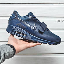 Кроссовки NIKE AIR MAX 90 YEEZY dark blue