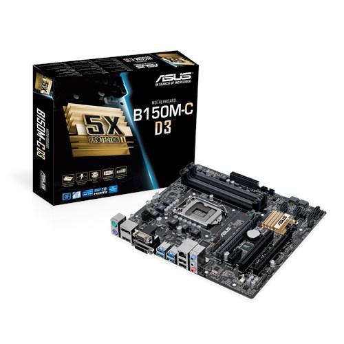"""Материнская плата Asus B150M-C D3 DDR3 s.1151 DDR4 """"Over-Stock"""""""