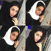 Женский шарф-хомут в разных цветах tez400751