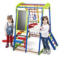 SportBaby Детский спортивный комплекс для дома SportWood  Plus 3