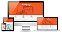 Разработка сайта-визитки шаблонного Landing Page