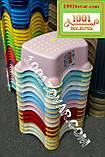 Антискользящая детская пластиковая накладка (адаптер) на унитаз и ступенька - подставка, фото 8
