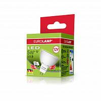 Лампа Eurolamp LED 220v 5w 4000K GU5.3 MR16 05534 D(P)