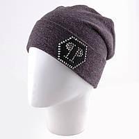 Женская шапка, сзади присобрана и пришита в виде конверта tez1207285