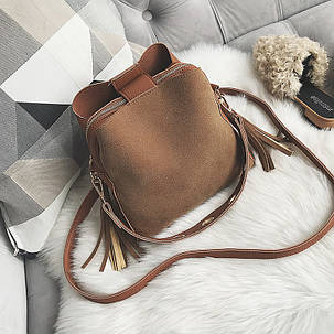 Женская замшевая сумочка  , фото 2
