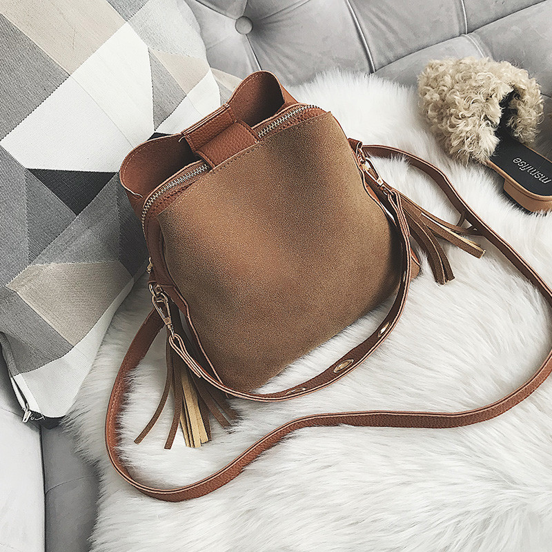 Женская замшевая сумочка
