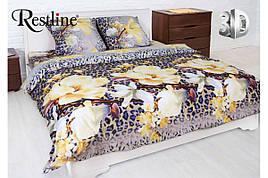 Набор постельного белья Аврора Евро размера Restline 3D