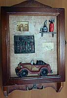 Ключница деревянная настенная  А067