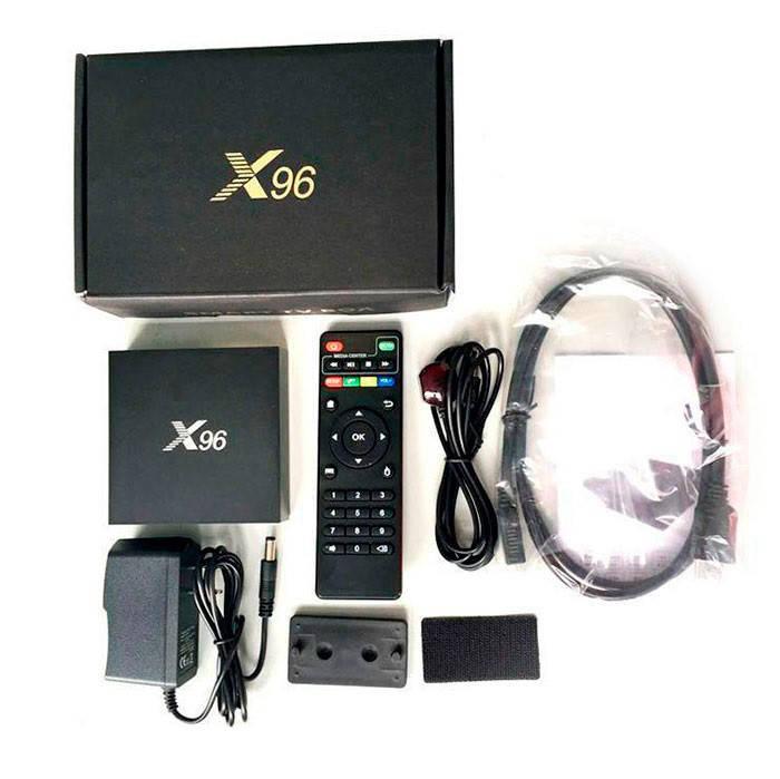 X96 оригинал S905X 1Gb/8Gb Android 6.0 Smart TV Box