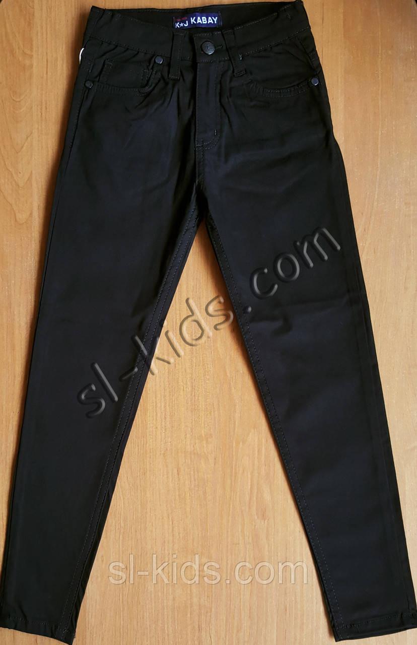 Штаны(скинны),джинсы для мальчика 6-10 лет(черные) опт пр.Турция