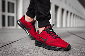 Кроссовки Nike Air Max 2017 «Team Red», фото 2
