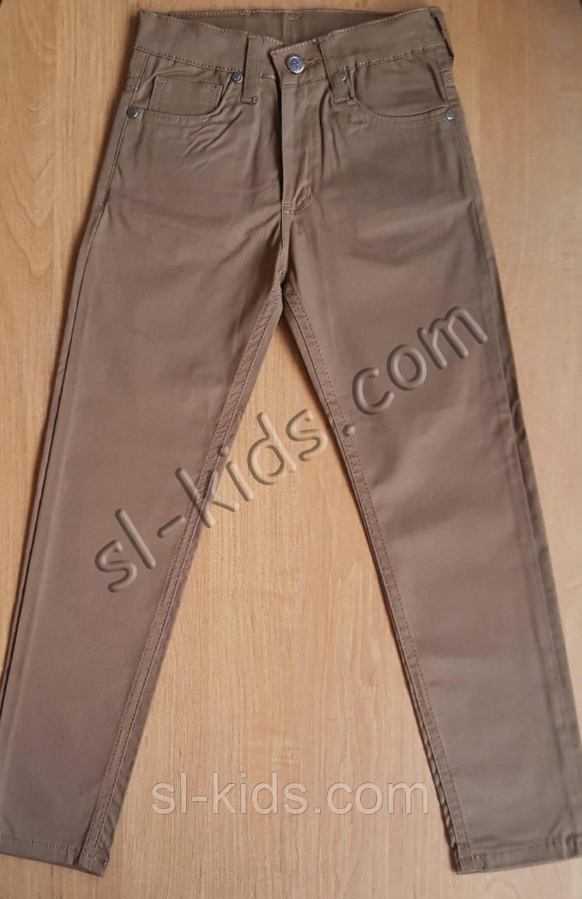 Штаны,джинсы для мальчика 6-10 лет(коричневые) опт пр.Турци