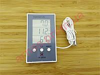 Термометр-гигрометр CX-201A цифровой c выносным датчиком (4-8)