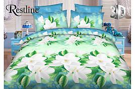 Набор постельного белья Весна Евро размера Restline 3D