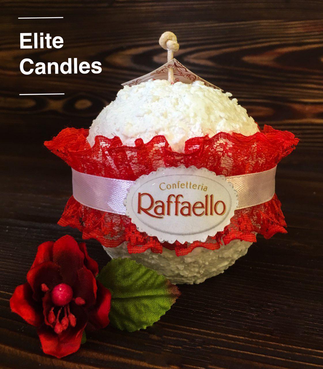 Романтическая свеча Рафаэлло