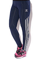 Лосины спорт  Adidas синий М 44-46