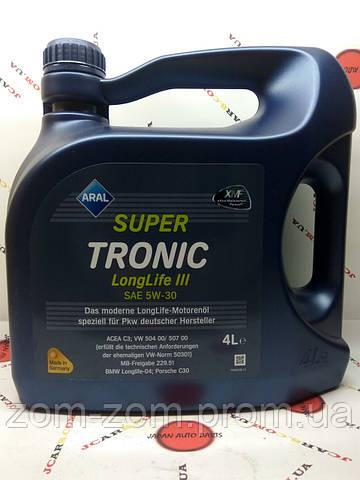 Масло ARAL SuperTronic Longlife 5W-30 4L