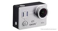 Экшн камера EKEN H5S с сенсорным экраном и электронной стабилизацией изображения Серебристый