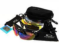 Тактические очки Oakley 5 стекол с поляризацией (Окли)