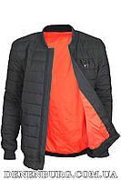 Куртка мужская демисезонная RZZ B8990B чёрная
