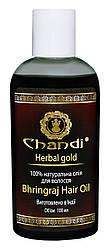 Натуральна олія для волосся 'Брингарадж' Chandi, 100 мл