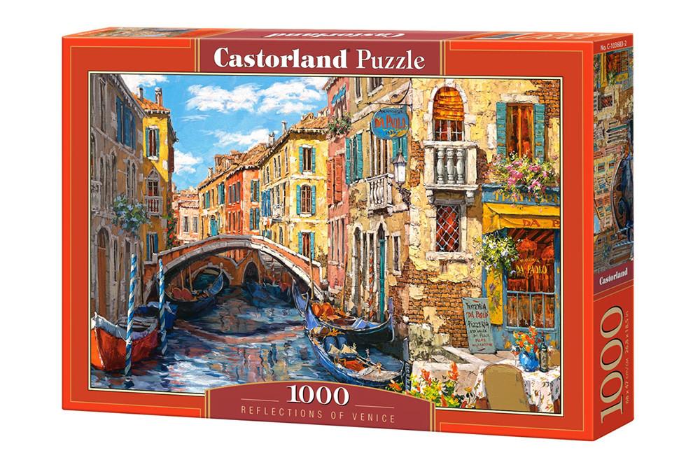 Пазлы Castorland Венецианский канал в Италии 103683, 1000 элементов