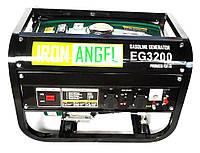 Генератор бензиновый IRON ANGEL  EG3200 (2,8 кВт, ручной старт) Бесплатная доставка, фото 1