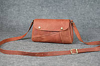 Компактная кожаная сумка Kiki | Винтажный Коньяк