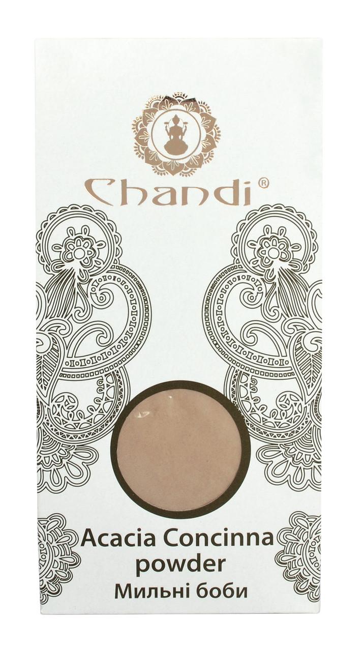 Порошок мыльных бобов (Acacia Concinna powder) Chandi, 100г