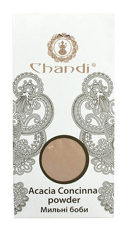 Порошок мыльных бобов (Acacia Concinna powder) Chandi, 100г, фото 2