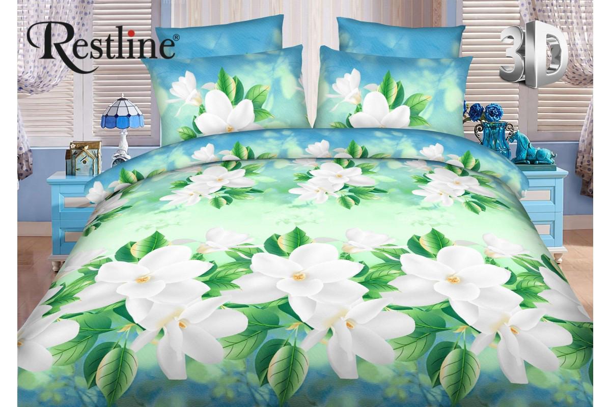 Семейный комплект постельного белья Restline 3D Весна