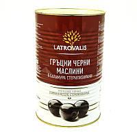 Оливки Latrovalis Черные 455/180 г