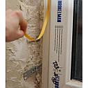 Віконний профіль з манжетою і сіткою самоклеючий для відкосів, 2,5м, фото 4