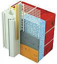 Віконний профіль з манжетою і сіткою самоклеючий для відкосів, 2,5м, фото 2