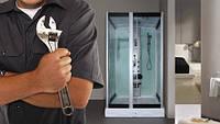 Руководство по установке и ремонту душевых дверей