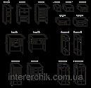 Стінка для вітальні з ДСП/МДФ (гостиная стенка) Версаль 12 (L3266) Світ Меблів, фото 2