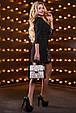 Красивое женское платье 2530 черный, фото 6