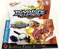 БейБлейд игрушка волчок Beyblade Xcalibur Бей с запуском распадается, фото 1