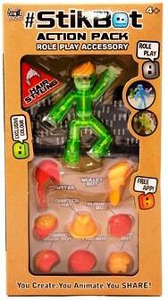 Игровой набор с фигуркой Stikbot (Стикбот) для анимации 2104