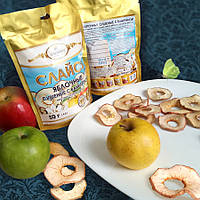 Слайсы фруктовые «Слайсы яблочные сушеные с ванилью» 50 г, фото 1