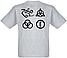 """Футболка Led Zeppelin """"Logo"""" (меланж), фото 2"""