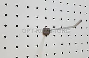 Крючок в перфорацию хром 15 см, толщ. 4 мм.