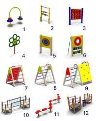 Элементы для детских площадок