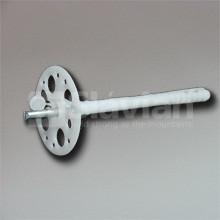 Дюбель крепления теплоизоляции 10х180мм,  металлический гвоздь и термозаглушка (Premium)