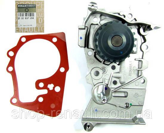 Насос водяной (помпа) 1.4-1.6 c 2010 / 1.6 16 V Duster/Logan/MCV/Sandero Renault Original