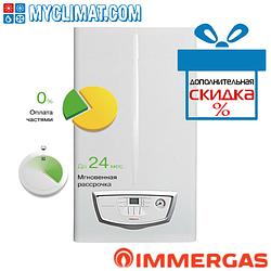 Настенный газовый котел Immergas Eolo Mythos 24 2 E