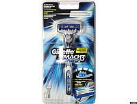 "Бритва ""Gillette Mach 3 Turbo"" (с 1 сменными кассетами)"