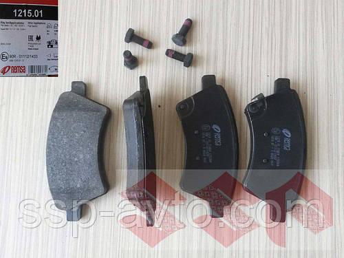 Тормозные колодки передние suzuki SX4, BPM121501, Remsa
