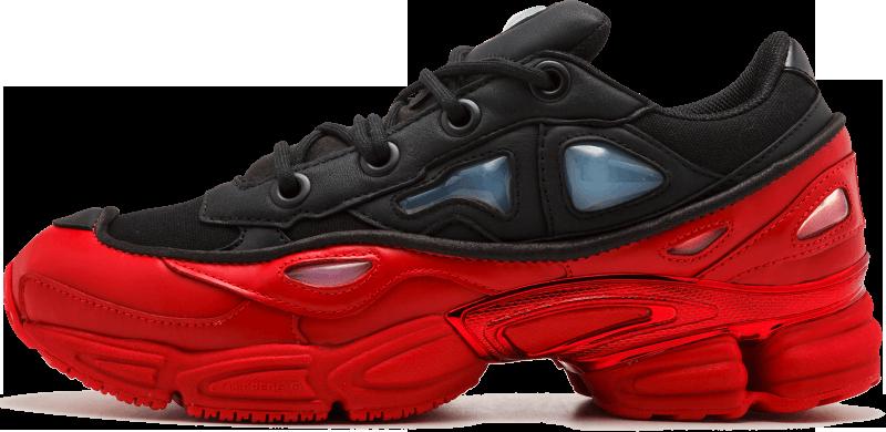 35ab9c886761 Женские кроссовки Adidas x Raf Simons Ozweego Bunny Red Black - Магазин  обуви с хорошими ценами