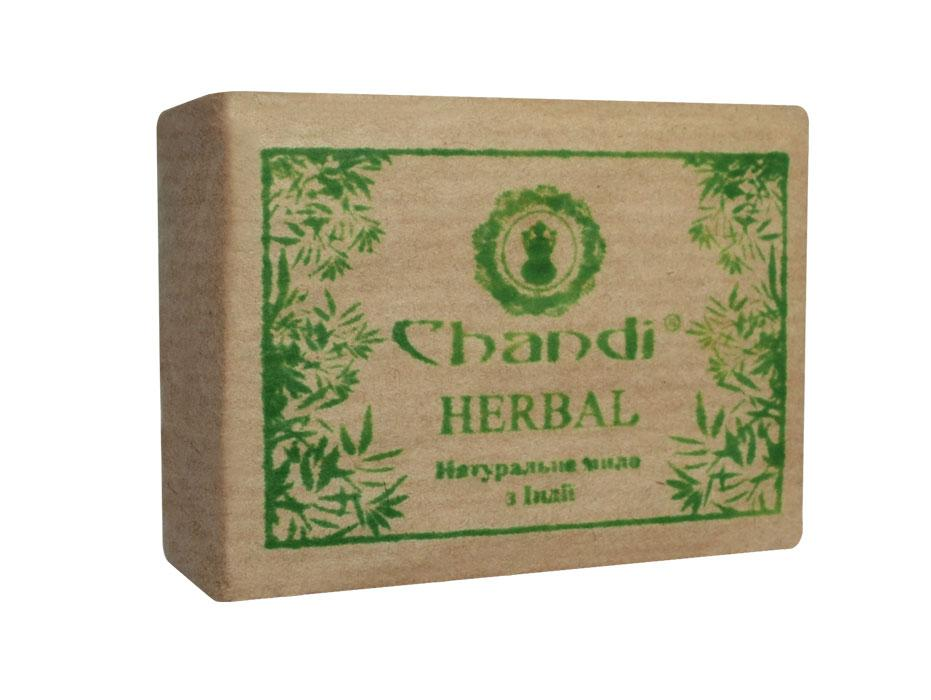 """Натуральное мыло """"Травяное"""" Chandi, 90 г"""